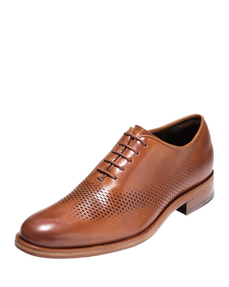 Cole Haan Washington Grand Laser Wing-Tip Oxford, British