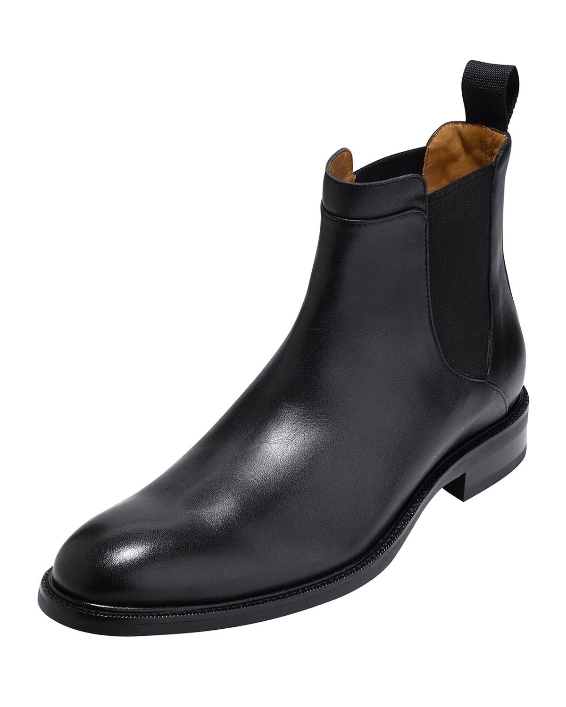 8603c4ea350 Warren Waterproof Leather Chelsea Boot, Black