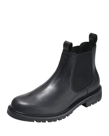Grantland Waterproof Chelsea Boot, Black