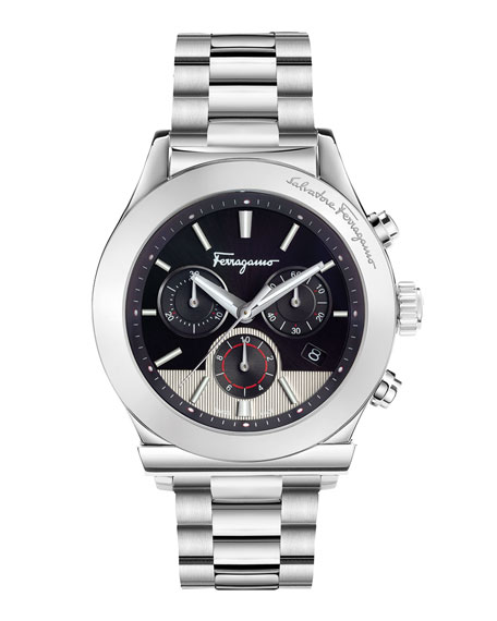 1898 Stainless Steel Chronograph Watch