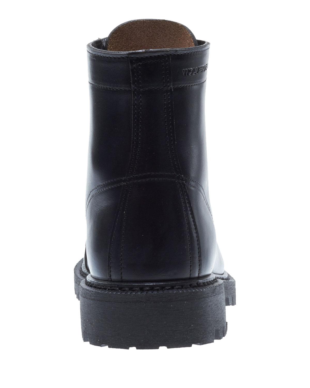 b47f48bb31c Dylan Leather Moto Boots, Black