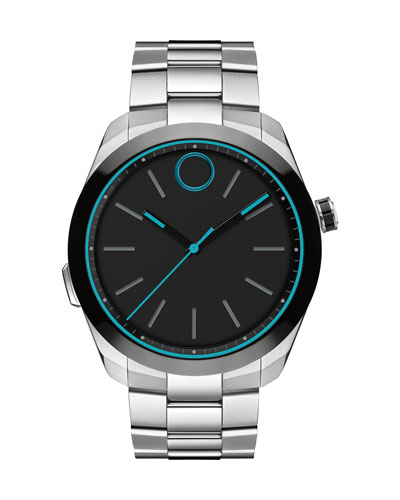 44mm Bold Motion Smart Watch, Silver