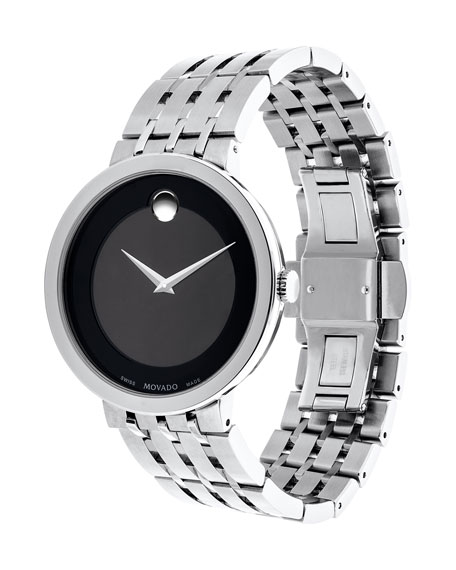 39mm Esperanza Watch, Silver
