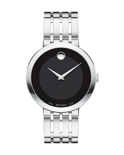 39mm Esperanza Watch, Silver