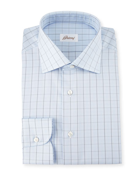 Isaia Dress Shirts : Check & Woven Shirts at Neiman Marcus