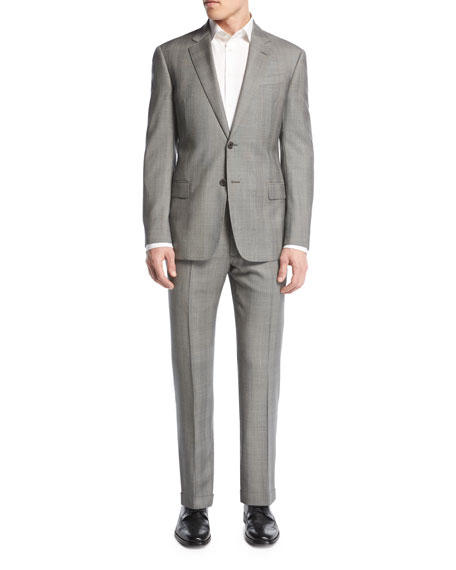 Armani Collezioni Prince of Wales Check Two-Piece Suit,