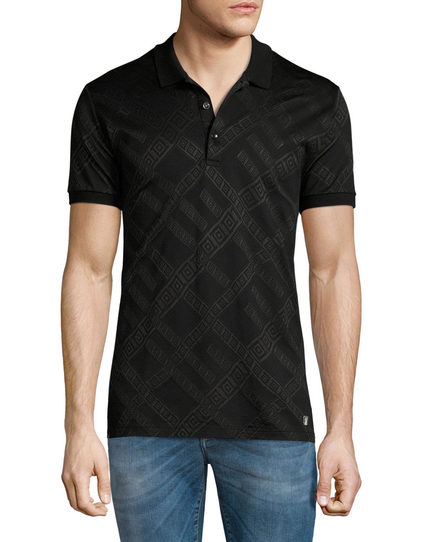 dfec847c Versace Collection Baroque Polo Shirt