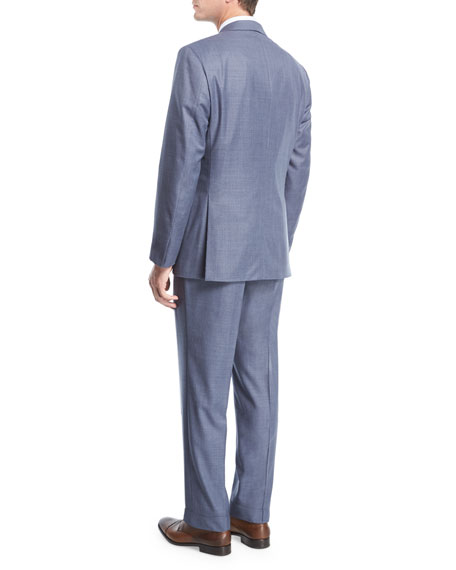 Super 150s Wool Two-Piece Suit