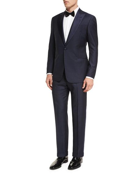 Giorgio Armani Virgin Wool Tuxedo Suit