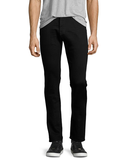 AG Matchbox 1-Year Undercover Denim Jeans, Black