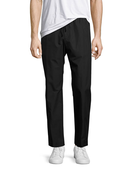 Juun J Lightweight Jogger Pants, Black
