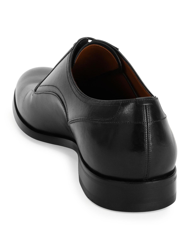 Bally Bruxelles Leather Oxford Dress Marcus Shoe negro Neiman Marcus Dress b4ca49