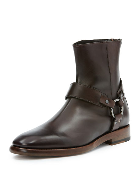 Men's Wright Leather Harness Boot