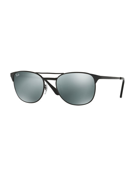 Ray-Ban Men's Icon Signet Mirrored Sunglasses