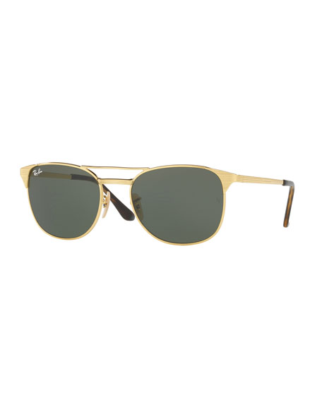 Ray-Ban Men's Icon Signet Solid Sunglasses