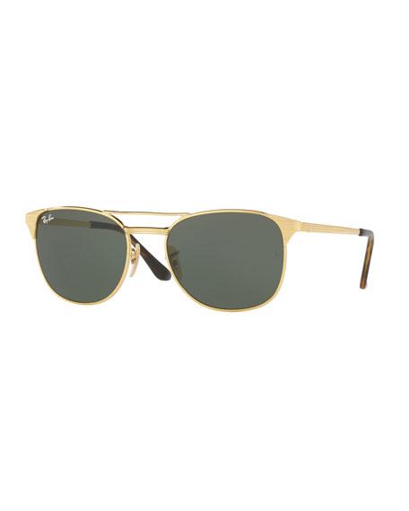 Men's Icon Signet Solid Sunglasses