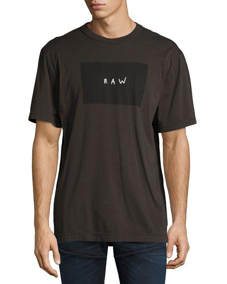 G-Star Proq Loose Long T-Shirt, Raven