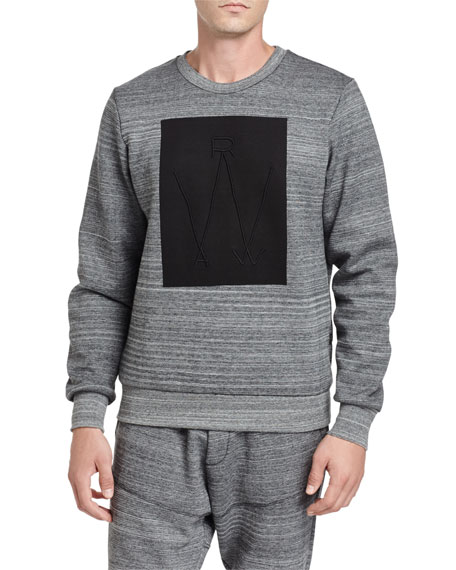 G-Star Lucas Thec Space-Dye Sweatshirt, Black