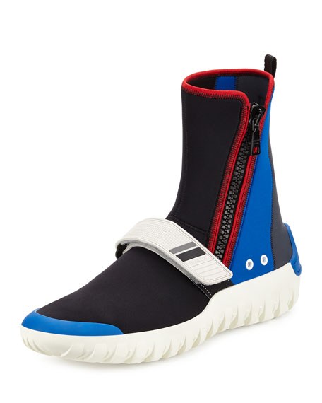 neoprene boot sneakers - Black Prada Zmpt24fcDg