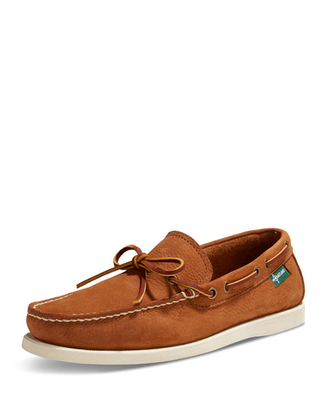 Yarmouth USA Leather Boat Shoe, Light Brown