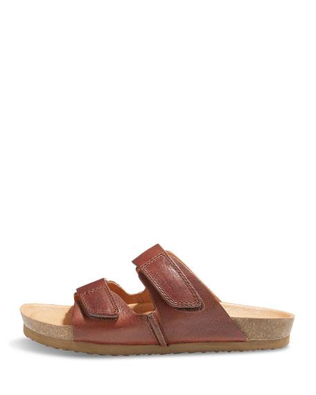 Westbrook 1955 Double-Strap Slide Sandal, Brown