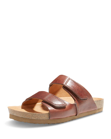 Eastland Westbrook 1955 Double-Strap Slide Sandal, Brown