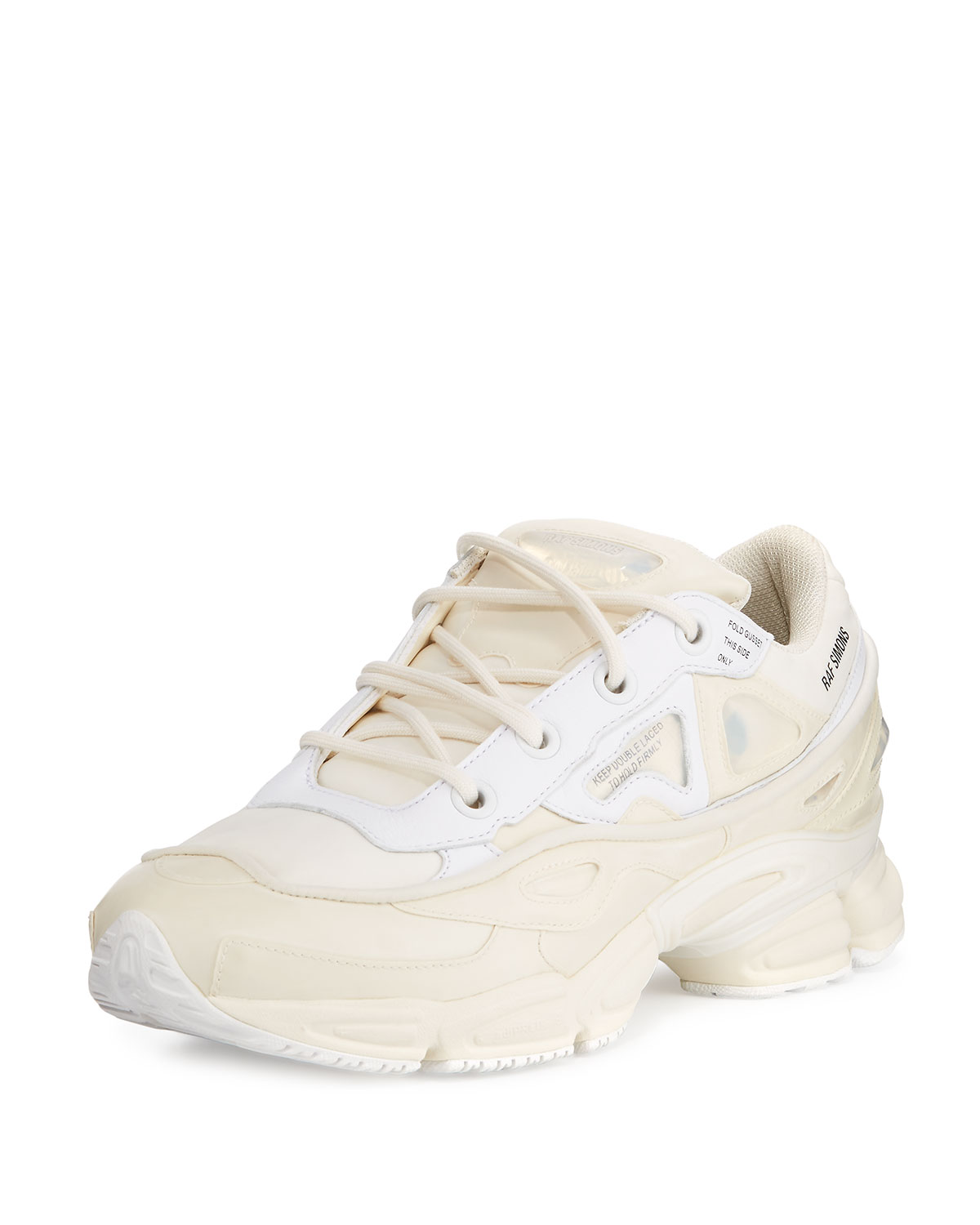17f793f50694 adidas by Raf Simons Men s Ozweego Bunny Trainer Sneaker