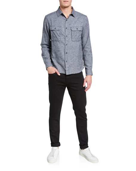 Tyler Taper-Fit Jeans, Seriously Black