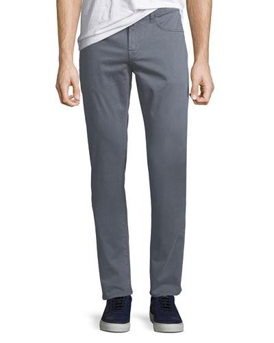 Men's Kane Straight-Leg Twill Pants