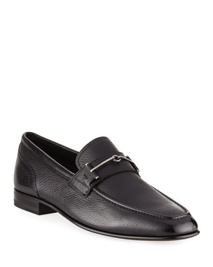 7a4457a22ce Bally Brignant Leather Horsebit Loafer