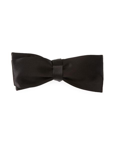 Self-Tie Satin Bow Tie