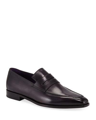 Men's Andy Calf Leather Penny Loafers