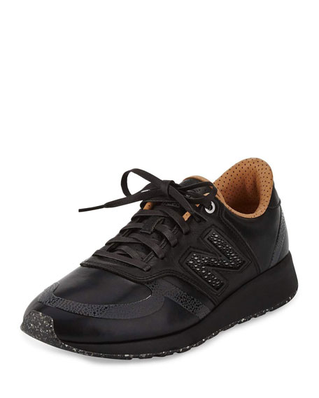 New Balance Men's MRL420 Leather Trainer Sneaker