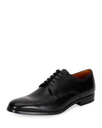 Latour Classic Leather Derby Shoe, Black