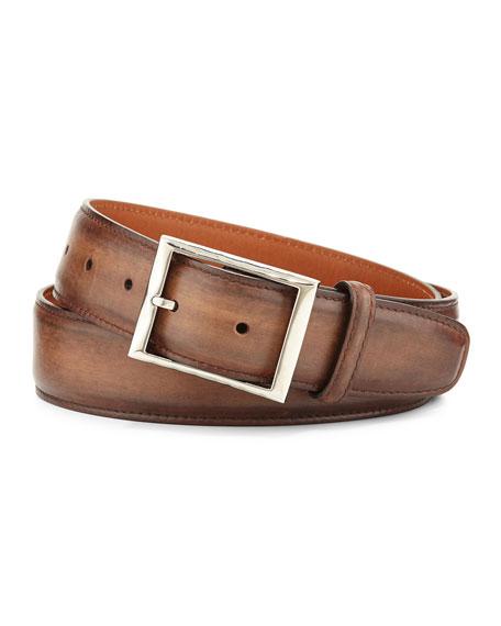 Berluti Venezia Leather Belt