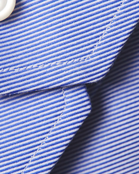 Contemporary-Fit Calvary Twill Dress Shirt