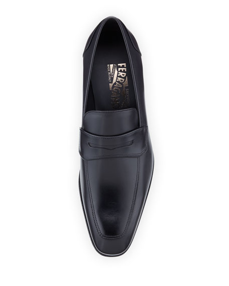 Men's Leather Penny Loafer