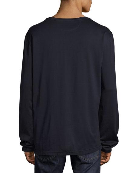 Monster Eyes Long-Sleeve T-Shirt, Navy
