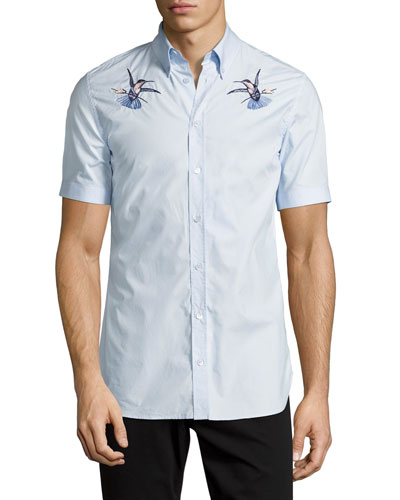 Men's Casual Button-Down Shirts at Neiman Marcus