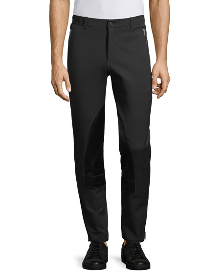 Alexander McQueen Satin-Paneled Pants