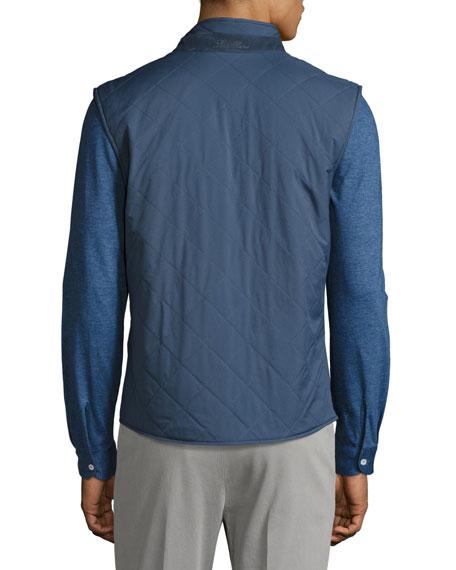 Southend Wind Stretch Storm System® Vest, Blue