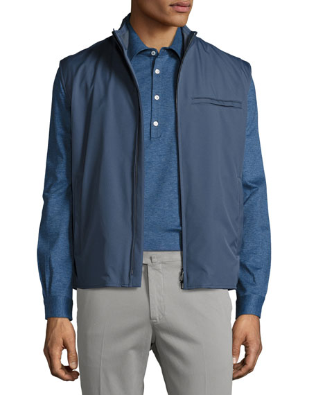 Loro Piana Southend Wind Stretch Storm System® Vest,