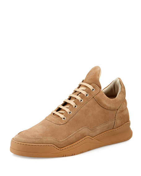Low-Top Ghost Sneakers, Sand