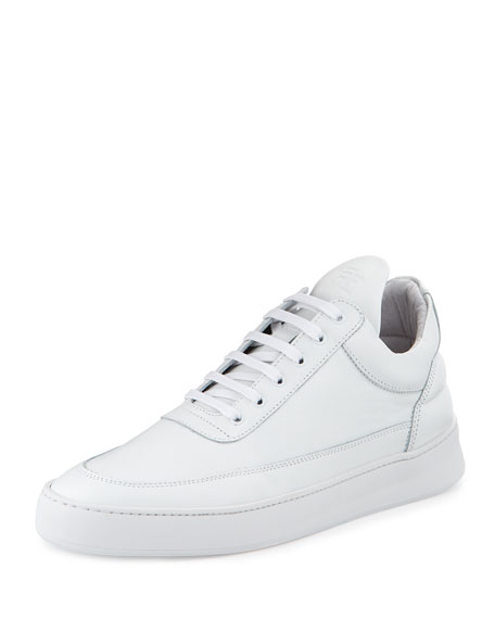 Low-Top Fundament Sneakers, White