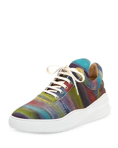 Low-Top Artemis Sneakers, Purple