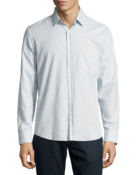 Billy Reid John T Standard-Cut Oxford Shirt, Light