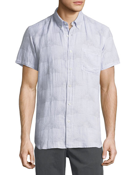 Billy Reid Tuscumbia Short-Sleeve Sport Shirt