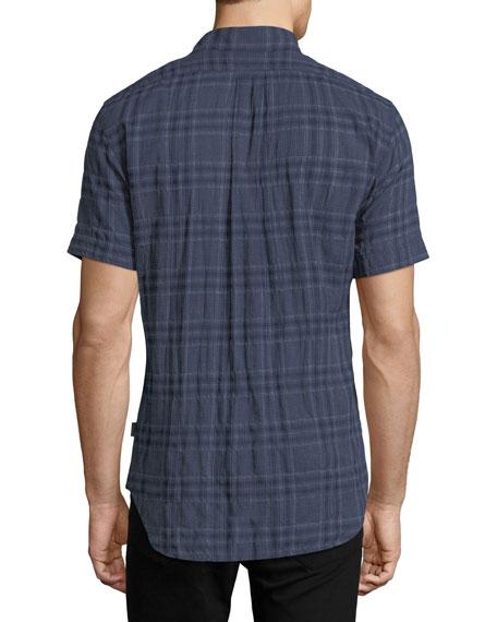 Clarence Plaid Cotton Shirt