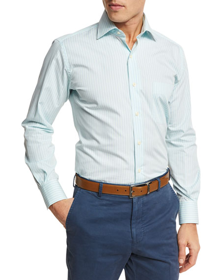 Summer Stripe Sport Shirt