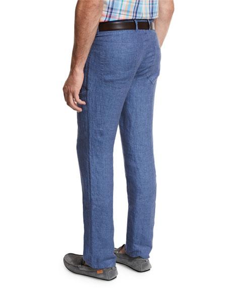 Linen Five-Pocket Pants